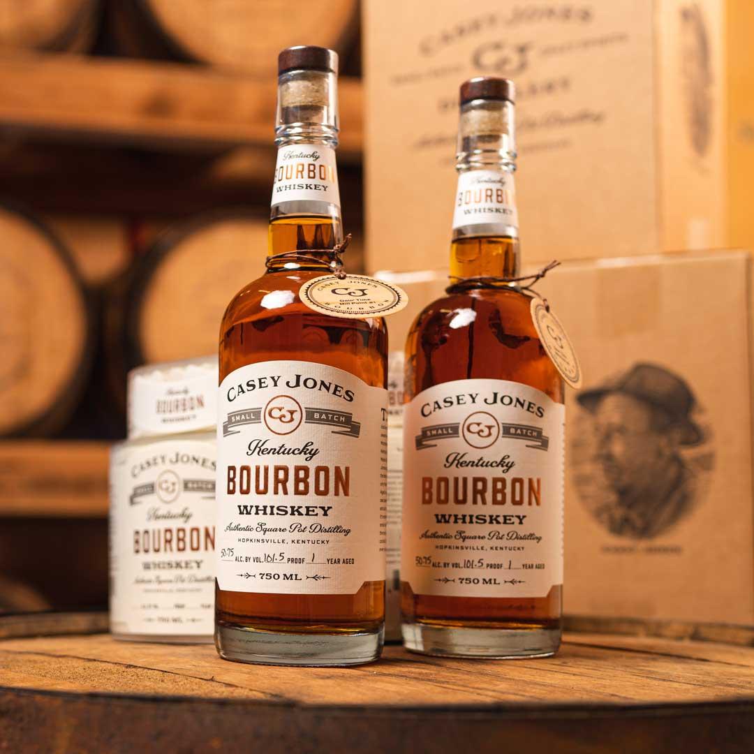 Casey Jones Distillery Bourbon Bottle