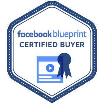 Facebook Blueprint Certified Buyer logo